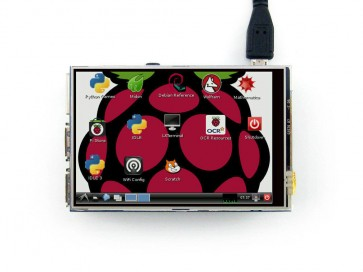 "3.5"" TFT LCD Touch Screen Module 320*480 For Raspberry Pi"