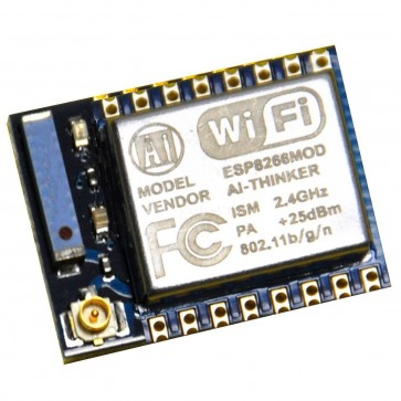The ESP8266 Wi-Fi Module is a self contained SOC with integrated TCP/IP protocol stack that can give any microcontroller access to your Wi-Fi network. The ESP8266 is capable of either hosting an application or offloading all Wi-Fi networking functions fro