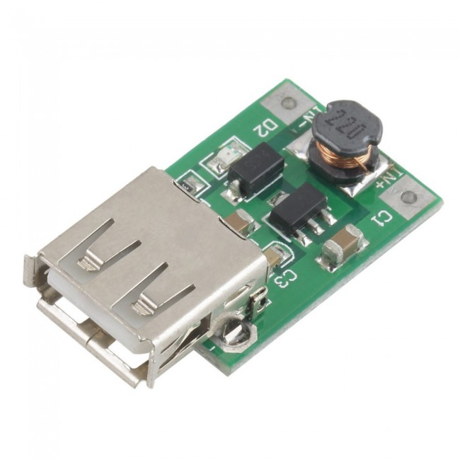 Dc-Dc 1-5V To 5V Step Up Power Supply Module Boost Converter 500Ma S/&K