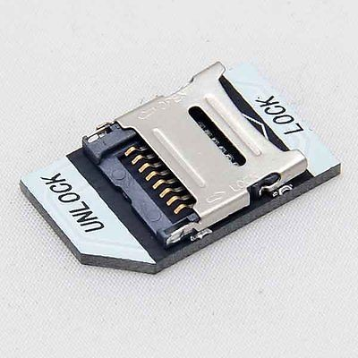 T-flash TF to micro SD card adapter for Raspberry Pi V2 Updated Version