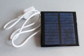 0.6W 5.5V 109mA Mini Solar Panel Module with USB Cable