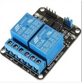 12V Two Channel Relay Module With Optocoupler