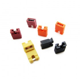 2.54mm Pitch Short Connect Cap Jumper
