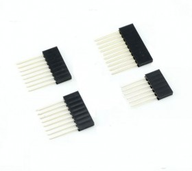 2.54 mm Stackable Long Legs Female Header For Arduino Shield