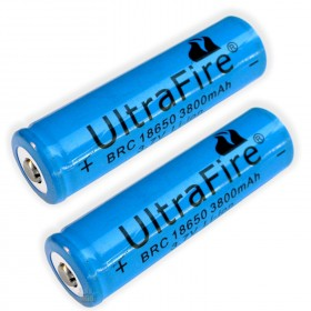 3.7V 18650 UltraFire 3800mAh Li-ion Rechargeable Battery