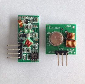 315Mhz RF Transmitter and Receiver Kit Module for Arduino and Raspberry Pi