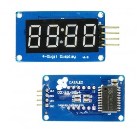 4 Bits Digital Tube LED Module With Clock Display for Arduino