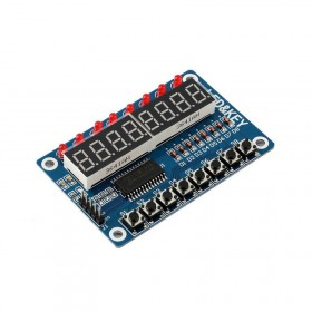 8-Bit Digital Tube LED Display Module with 8 Keys for Arduino