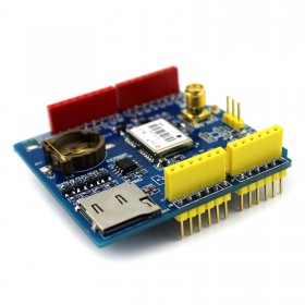 GPS Shield Ublox/u-blox CT-1612UB Micro SD 5v for Arduino With Antenna
