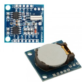 I2C DS1307 AT24C32 Real Time Clock Module with Battery