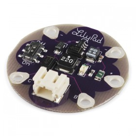 LilyPad LiPower Lithium Battery Power Step Up Module 5V Output