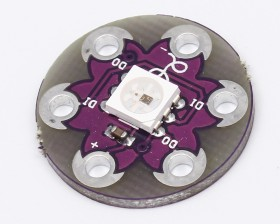 LilyPad Pixel Board WS2812 RGB LED Module for Arduino