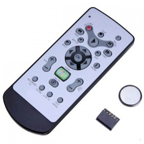 Media Remote Control With IR Receiver Module Kit For Raspberry Pi