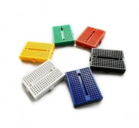 Mini Solderless Prototype Breadboard 170 Tie Points