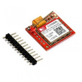 Smallest SIM800L Quad-band GPRS GSM Module with Micro SIM Card