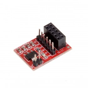 Socket Adapter Plate Board for 10 Pin NRF24L01+ Wireless Transceiver Module