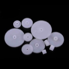 11 Styles Plastic Gears All Module 0.5 Robot Parts for Arduino