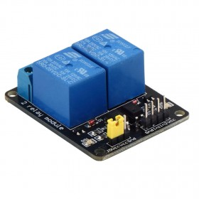 5V 2 Channel Relay Module for Arduino