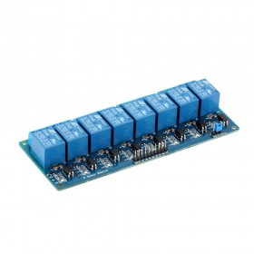 5V 8 Channel Relay Module With Optocoupler for Arduino