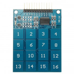 TTP229 16 Channel Digital Capacitive Switch Touch Sensor Module For Arduino